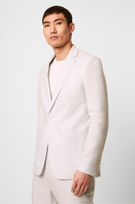 French Connection Linen Tailored Jacket
