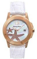 Tommy Bahama Swiss Women's TB2138 Bimini Starfish Round White Dial Rose Gold Watch