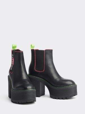 Tommy Hilfiger Chelsea Cleated Heeled Boots