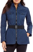 Beretta Bluebell Belted Quilted Jacket