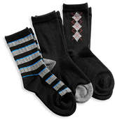 Jack & Jill 3 Pack Fashion Dress Socks