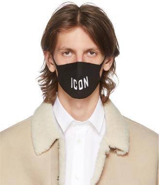 DSQUARED2 Black Icon Mask