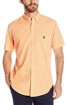 U.S. Polo Assn. Men's Tattersall Check Single Pocket Sport Shirt