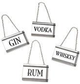 Godinger Rectangle Liquor Label Set