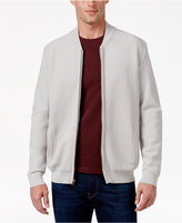 Alfani Collection Men's Lightweight Waffle-Knit Sweater Jacket, Created for Macy's