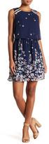 Vero Moda Lea Foldover Floral Dress