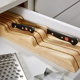 Crate & Barrel Wüsthof ® In Drawer 7 Slot Knife Block