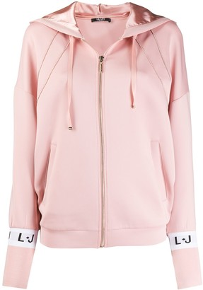 Liu Jo Zip Hooded Sweatshirt