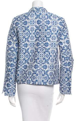 Creatures of the Wind Long Sleeve Printed Blazer