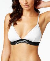 Calvin Klein Active Logo Triangle Bikini Top