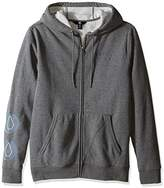 Volcom Men's Darwin Hooded Zip Fleece Hoodie