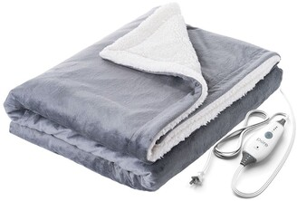 Pure Enrichment PureRelief Heated Throw - Gray