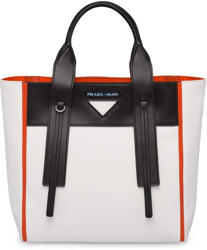 e391753a4251 Prada Canvas Handbags - ShopStyle