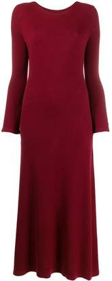 N.Peal ribbed cashmere midi dress