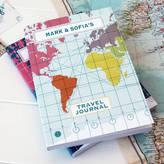 Sukie Personalised World Map Travel Journal