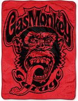 "Northwest Company Gas Monkey Garage 46"" x 60"" Plush Micro-Raschel Throw"