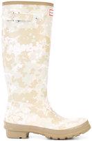 Hunter camouflage rain boots - women - rubber - 7