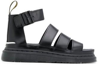 Dr. Martens Open Toe Buckled Sandals