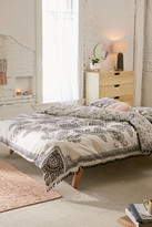 Urban Outfitters Valda Woodblock Medallion Duvet Cover