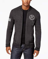American Rag Men's Patch Sweater Jacket, Created for Macy's