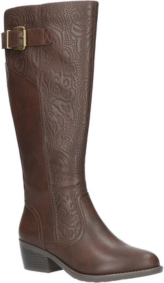 Easy Street Shoes Low-Heel Tall Boots - Arwen
