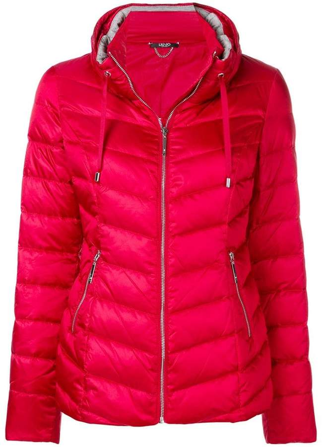 Liu Jo 'Elsa' quilted down jacket