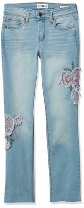 Black Daisy Women's Kate Cropped Straight Leg Jean