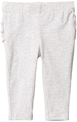Cotton On Quinn Ruffle Leggings (Infant/Toddler) (Cloud Marle) Girl's Casual Pants