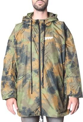 Off-White Hooded Wind Jacket