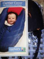 Gold Bug Reversible All-Season Carrier Cover Navy & White
