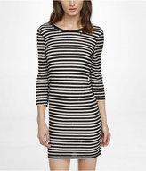 Express Sequin Stripe Dress