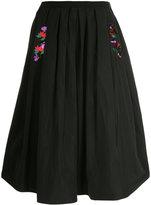 Muveil sequin embellished full skirt