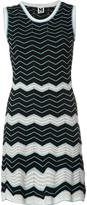 M Missoni zig zag pattern dress - women - Cotton/Polyamide/Polyester - 42