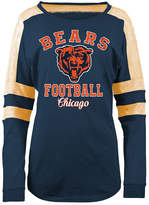 5th & Ocean Women's Chicago Bears Space Dye Long Sleeve T-Shirt
