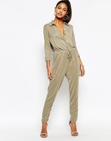 Lipsy Lightweight Jumpsuit With Drawstring Waist