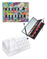 Fashion World Deluxe Nail, Eye & Lip Set Organiser