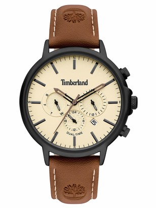 Timberland Mens Analogue Quartz Watch with Leather Strap TBL15651JYB.01
