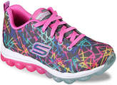 Skechers Skech Air Color Chaos Toddler & Youth Sneaker - Girl's