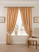 Christy Palermo Curtains 66X72 Rich Gold