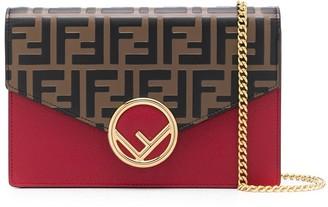 Fendi F is clutch wallet on chain