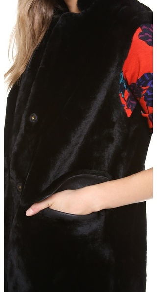 Marc by Marc Jacobs Hudson Shearling Vest