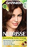 Garnier Nutrisse Nourishing Color Creme, 43 Dark Golden Brown (Cocoa Bean) (Packaging May Vary)