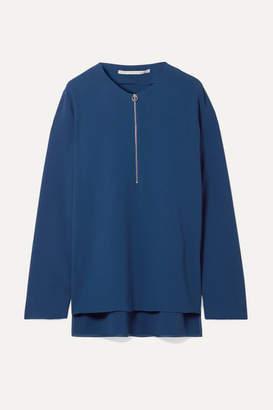 Stella McCartney Arlesa Crepe Top - Royal blue