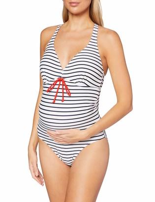 Mama Licious Mamalicious Women's MLNEW Josefine Stripy Swimsuit One Piece
