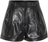 Isabel Marant Fabot high-rise leather shorts