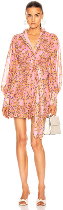 Alexis Karina Dress in Rose Floral | FWRD