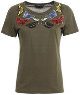 Alexander McQueen Beaded Bitterflies T-shirt