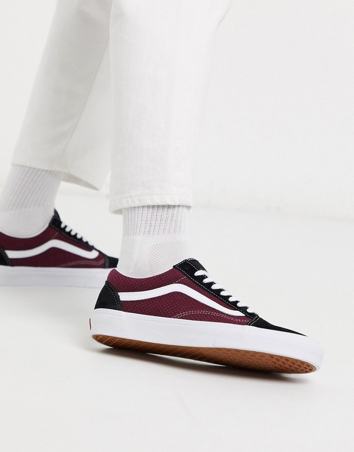 Burgundy Sneakers | Shop the world's