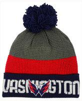 Reebok Washington Capitals Pom Knit Hat