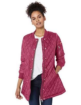 Urban Republic Women's Juniors THINFILL Quilt Long Jacket